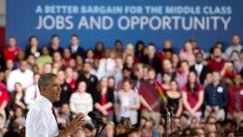 Obama: 2014, vit veprimi për ekonominë