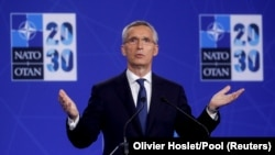 NATO အဖြဲ႔ႀကီးရဲ႕ အတြင္းေရးမွဴးခ်ဳပ္ Jens Stoltenberg