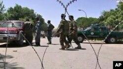 هلاکت ده کارگر ساختمانی در انفجار بم در افغانستان