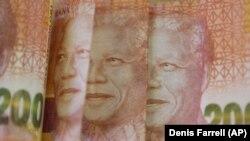 Nota de 200 rands, a moeda da África do Sul