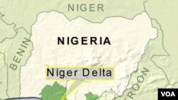 Kelompok militan di Delta Niger yang kaya minyak sering melancarkan serangan dan penculikan.