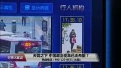 时事大家谈:天网之下,中国政治变革已无希望?