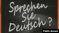 The German phrase 'Sprechen Sie Deutsch' means 'Do you speak German?'