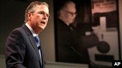 Jeb Bush se prepara para el tercer debate republicano que será el próximo 28 de octubre.