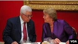 """Abbas exigió """"el fin de la construcción de asentamientos por parte de las fuerzas de ocupación (de Israel)""""."""