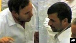 رضایت احمد نژاد از مذاکرات ذروی در ژنیف