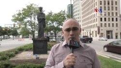 Բարի Լույս: Արամ Ավետիսյան՝ Դեթրոյթում Կոմիտասի արձանի հետքերով