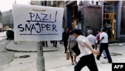 Sarajevo pod opsadom, 25. jul 1992