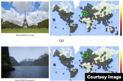 Google says it has created an artificial intelligence that can tell where photos were taken. (arxiv.org)