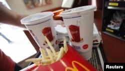 麥當勞的速食餐點