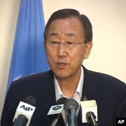 اقوام متحدہ کے سیکرٹری جنرل بان کی مون