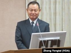 台湾国家安全局长李翔宙(美国之音张永泰拍摄)