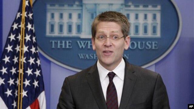White House Press Secretary Jay Carney (file photo)