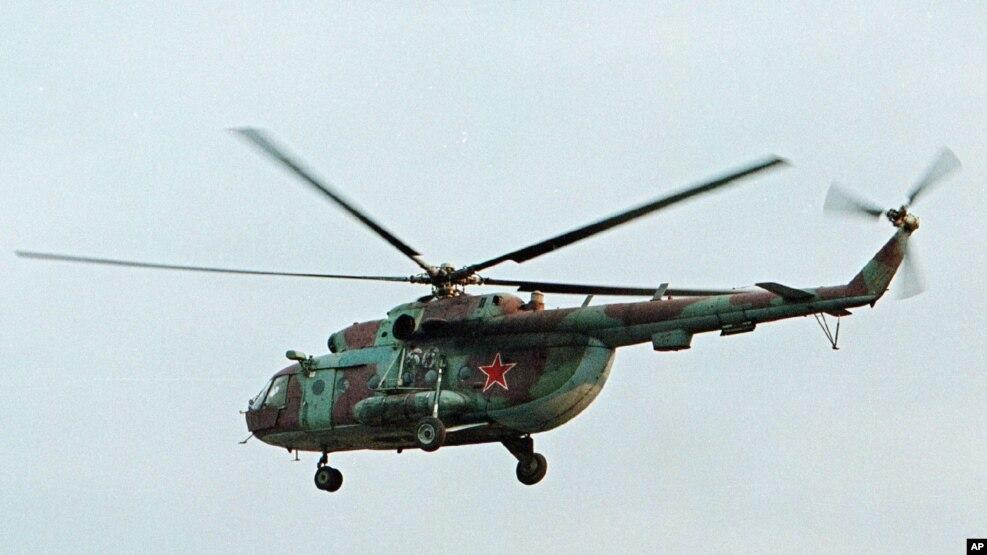 5 të vdekur nga rrëzimi i një helikopteri rus në Siri