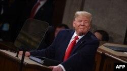 Predsednik Tramp govori o stanju unije u Vašingtonu, 4. februara 2020.