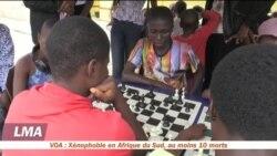 Jouer aux échecs dans les bidonvilles