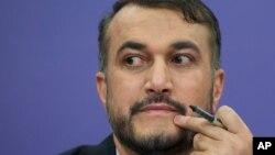 حسین امیرعبداللهیان، وزیر امور خارجه ایران. آرشیو