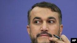 حسین امیر عبداللهیان، وزیر خارجه جمهوری اسلامی ایران (آرشیو)