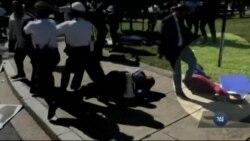 """""""Хтось без зупинок мене бив по голові, і я втратила свідомість"""" - постраждала під час бійки біля посольства Туреччини у Вашингтоні. Відео"""