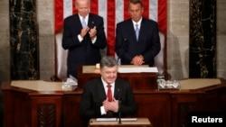 Ukrajinski predsjednik govori pred Kongresom , Washington Septembar 18, 2014