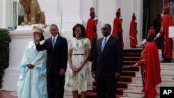 Prezident Obama Afrikada səfərdədir