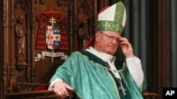 El cardenal Timothy Dolan ha dirigido una carta al presidente de la Cámara de Representantes, John Boehner, pidiendo una pronta reforma inmigratoria.