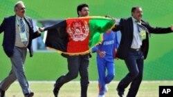 تجلیل از پیروزی تأریخی کرکت در افغانستان