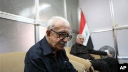 伊拉克前外长阿齐兹9月5日接受美联社采访