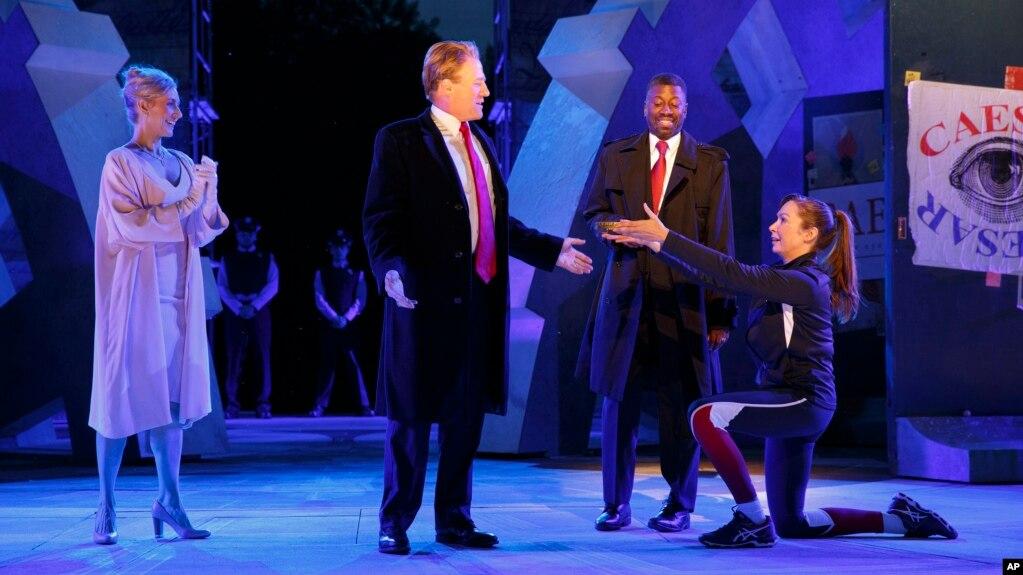 Shakespeare Play With Trump Looking Julius Caesar Draws Criticism