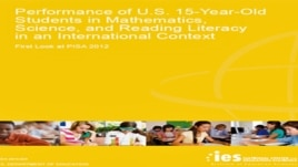 Cover of the 2012 Program for International Student Assessment.