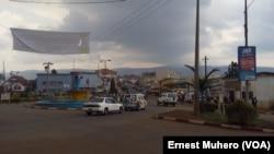 La ville de Bukavu, chef-lieu de la province du Sud-Kivu. VOA/Ernest Muhero