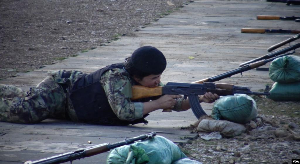Female Peshmarge in Kurdistan - Iraq