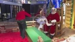 Santa Back in Some Places Despite Raging COVID-19 Pandemic