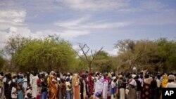 南蘇丹出現糧食危機。