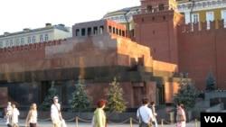 莫斯科紅場列寧墓(2014年7月資料照片 美國之音白樺拍攝)