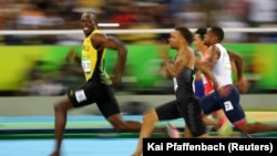People around the world were surprised to see this smiling photo of Usain Bolt emerge from the Olympics.