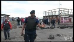 Manifestation à Goma (vidéo)
