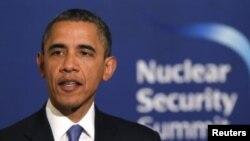Presiden AS Barack Obama membuka KTT Keamanan Nuklir di Washington, DC hari Kamis (31/3).