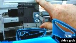Penerapan realitas tertambah (AR) dengan hologram (Photo: Videograb)