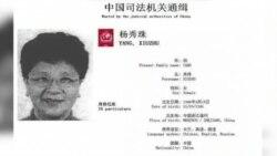VOA连线:中国红色通缉令首犯杨秀珠非法移民案在纽约开庭