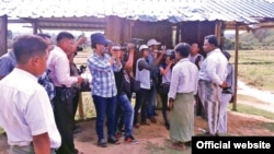 the media team in Maungdaw (MOI Webportal Myanmar)