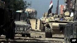 23일 이라크 정부군이 ISIL이 점령했던 라마디 시 남쪽 지구에 진입했다.