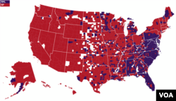 It's not all north v. south. According to Facebook, the country splits east v. west when it comes to support for the Superbowl contenders (Image: Facebook)