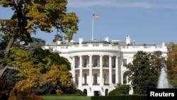位于华盛顿特区的白宫 (资料照)