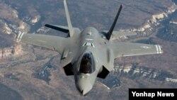 미국 록히드마틴 사가 제작한 차세대 스텔스 전투기 F-35A.