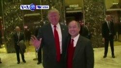 Manchetes Americanas 7 Dezembro: Trump e SoftBank group anunciam investimento de $50 mil milhões