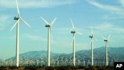 Shamoldan quvvat oluvchi turbinalar, Kaliforniya shtati