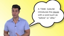 Everyday Grammar: Time Clause Before/After