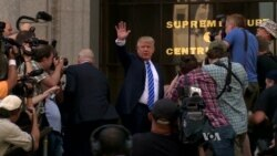 From Campaigning to Court: Trump Reports for Jury Duty