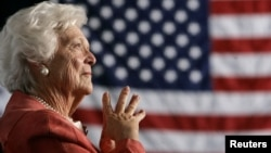 အေမရိကန္ သမၼတ ကေတာ္ေဟာင္း Barbara Pierce Bush (၉၂ ႏွစ္) ကြယ္လြန္။